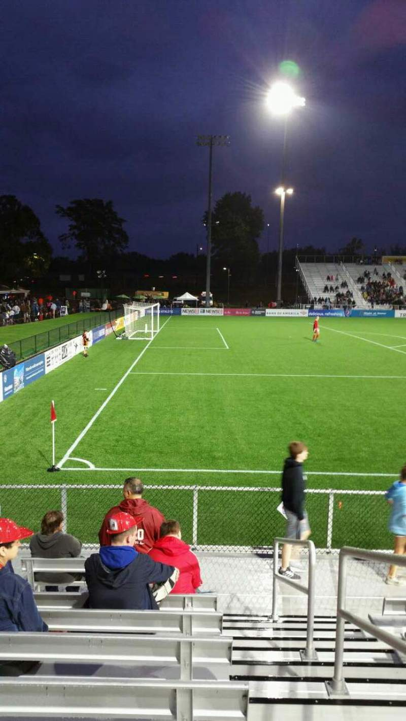 Seating view for Dillon Stadium Section 1 Row G Seat 1