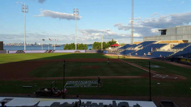 Seating view for Richmond County Bank Ballpark Section 7 Row R Seat 19
