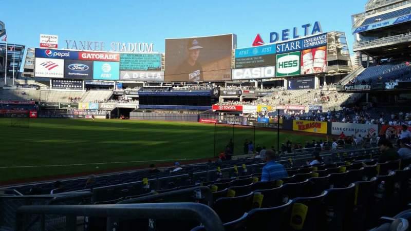 Yankee Stadium, section 114A, row 7, seat 1 - New York ...