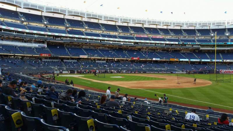 Yankee Stadium, section 112, row 11, seat 1 - New York ...