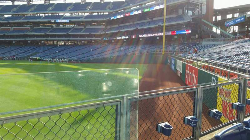 Seating view for Citizens Bank Park Section 148 Row 5 Seat 1