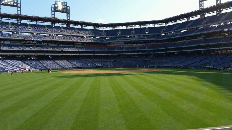 Seating view for Citizens Bank Park Section 148 Row 5 Seat 2