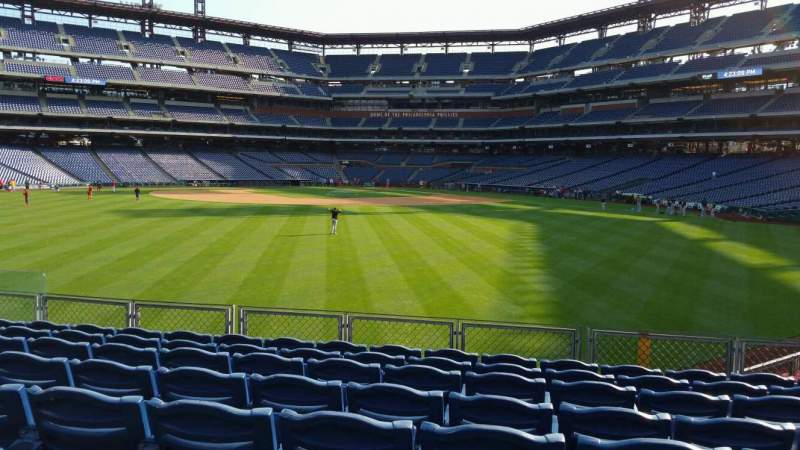 Seating view for Citizens Bank Park Section 147 Row 11 Seat 10