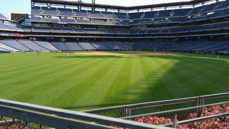 Seating view for Citizens Bank Park Section 147 Row 4 Seat 1