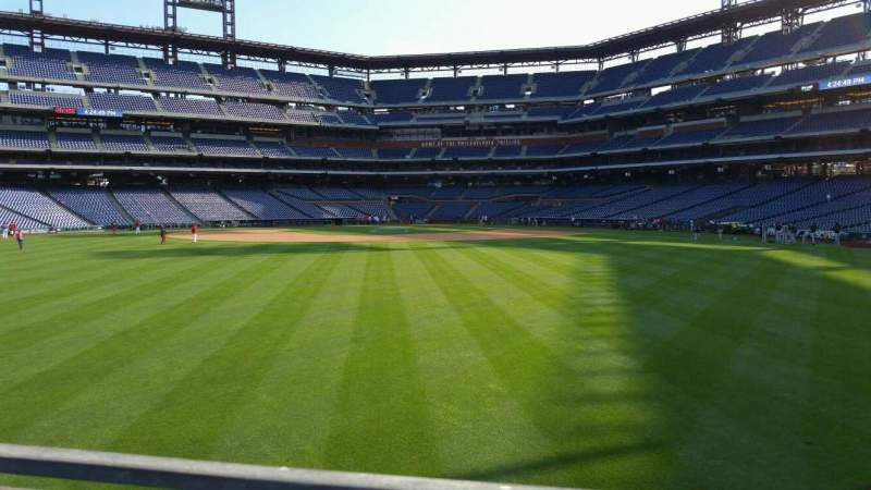 Seating view for Citizens Bank Park Section 147 Row 4 Seat 12