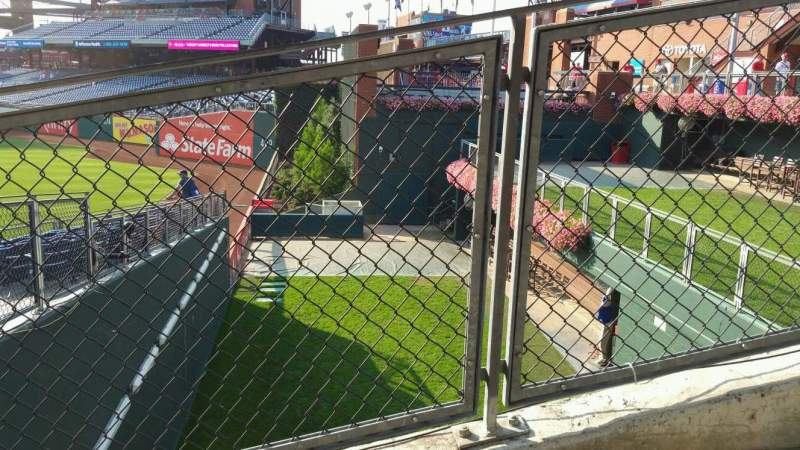 Seating view for Citizens Bank Park Section 102 Row 16 Seat 8