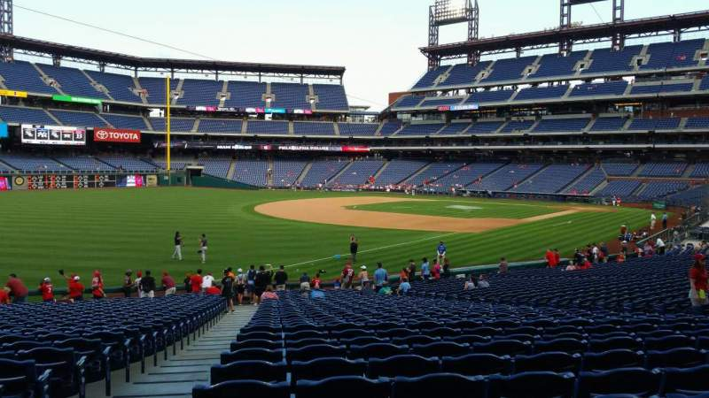 Seating view for Citizens Bank Park Section 137 Row 32 Seat 19