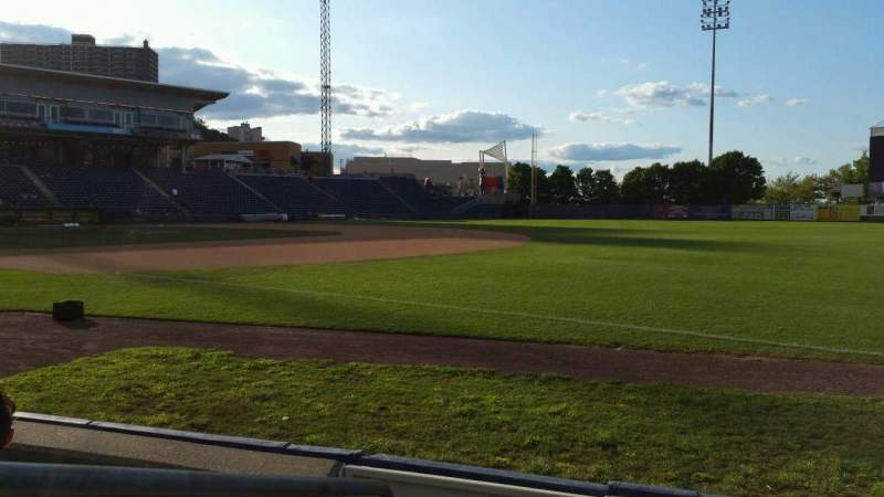 Seating view for Richmond County Bank Ballpark Section 16 Row D Seat 24