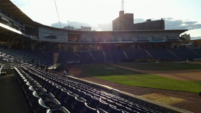 Seating view for Richmond County Bank Ballpark Section 15 Row K Seat 1