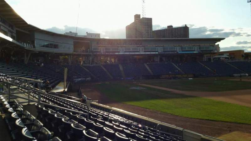 Seating view for Richmond County Bank Ballpark Section 15 Row L Seat 9