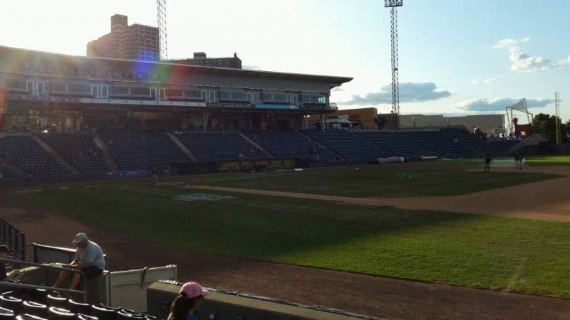 Seating view for Richmond County Bank Ballpark Section 14 Row G Seat 12