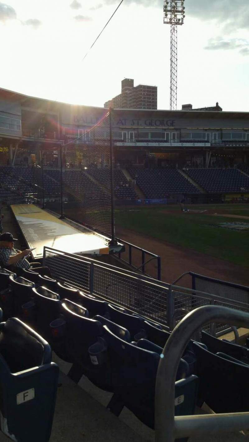 Seating view for Richmond County Bank Ballpark Section 14 Row G Seat 24
