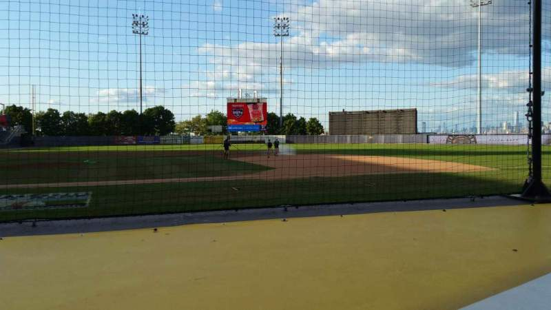 Seating view for Richmond County Bank Ballpark Section 12 Row D Seat 11