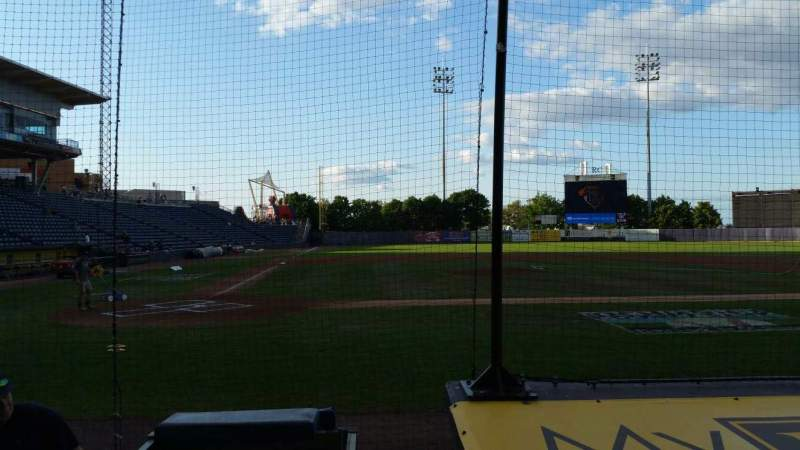 Seating view for Richmond County Bank Ballpark Section 11 Row E Seat 9