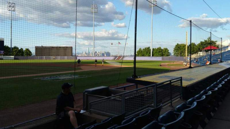 Seating view for Richmond County Bank Ballpark Section 11 Row E Seat 19