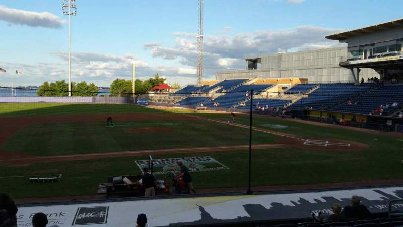 Seating view for Richmond County Bank Ballpark Section 6 Row M Seat 11