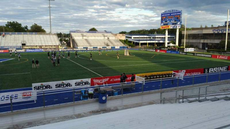 Seating view for James M. Shuart Stadium Section 3 Row 16 Seat 27