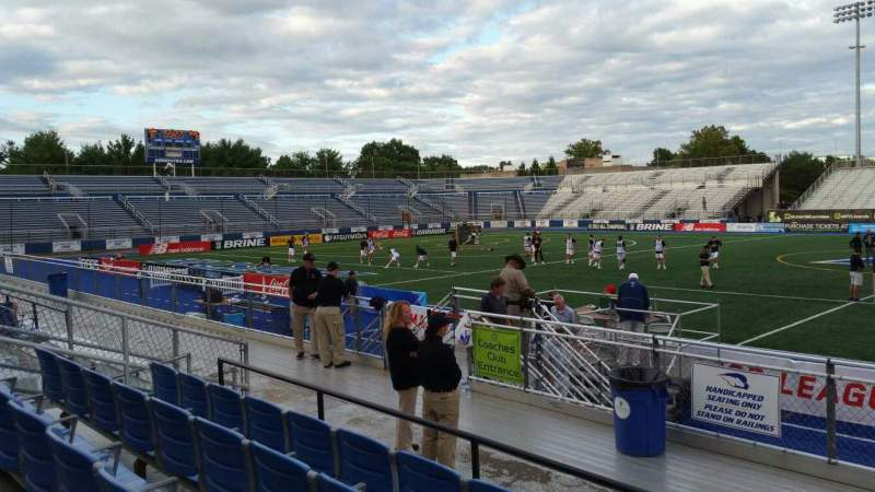 Seating view for James M. Shuart Stadium Section 3 Row 8 Seat 27