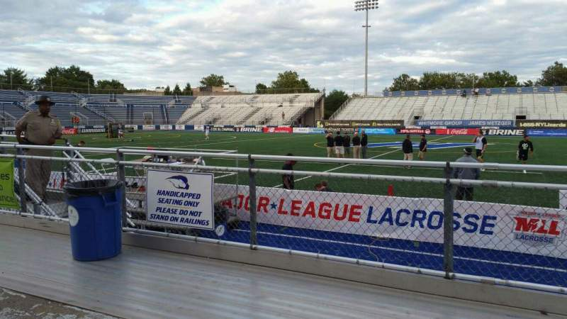 Seating view for James M. Shuart Stadium Section 3 Row 3 Seat 27