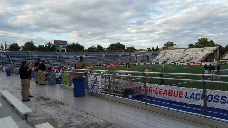 Seating view for James M. Shuart Stadium Section 3 Row 3 Seat 20
