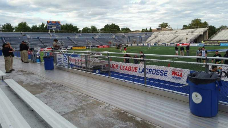 Seating view for James M. Shuart Stadium Section 3 Row 3 Seat 13
