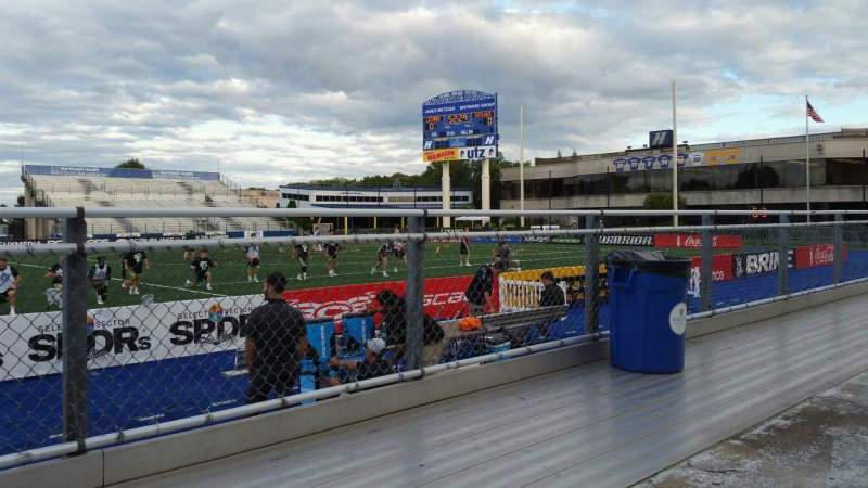 Seating view for James M. Shuart Stadium Section 3 Row 1 Seat 27
