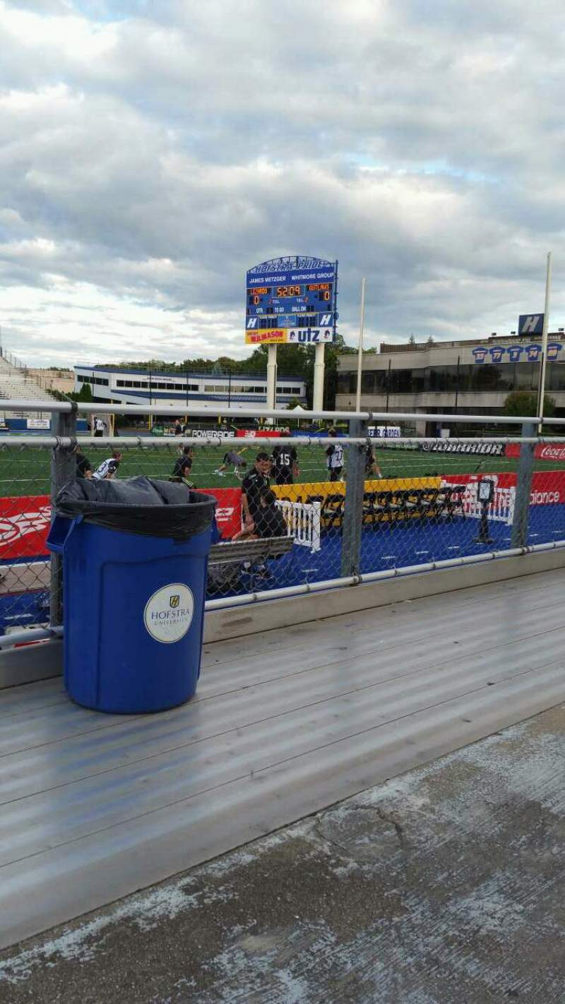 Seating view for James M. Shuart Stadium Section 3 Row 1 Seat 21