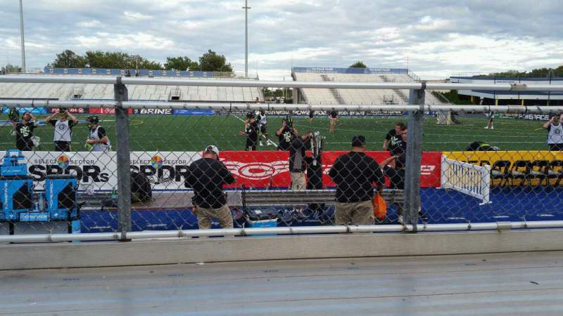 Seating view for James M. Shuart Stadium Section 3 Row 1 Seat 13