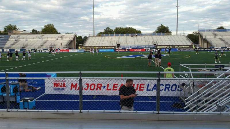 Seating view for James M. Shuart Stadium Section 4 Row D Seat 23