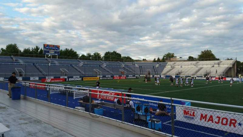Seating view for James M. Shuart Stadium Section 4 Row D Seat 19