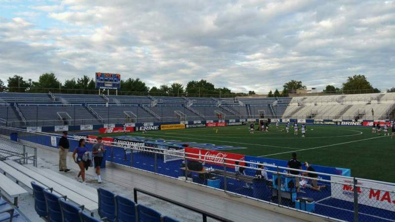 Seating view for James M. Shuart Stadium Section 4 Row G Seat 19