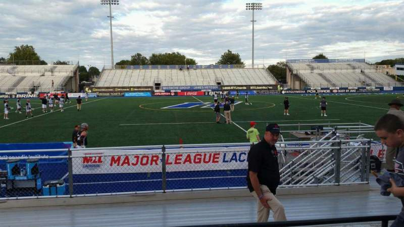 Seating view for James M. Shuart Stadium Section 4 Row G Seat 25
