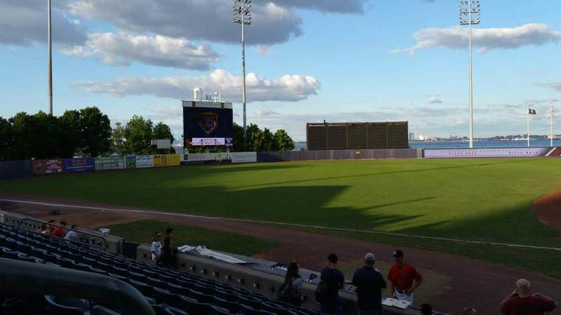 Seating view for Richmond County Bank Ballpark Section 5 Row K Seat 22