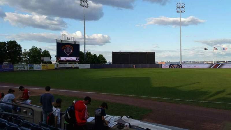 Seating view for Richmond County Bank Ballpark Section 4 Row F Seat 13