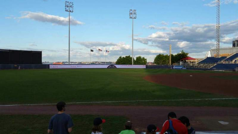 Seating view for Richmond County Bank Ballpark Section 4 Row F Seat 24