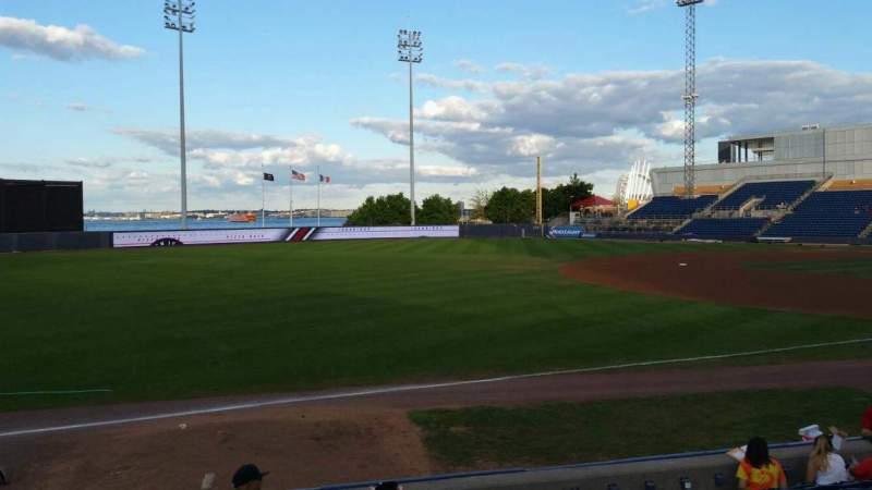 Seating view for Richmond County Bank Ballpark Section 3 Row K Seat 22