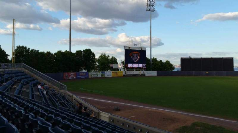 Seating view for Richmond County Bank Ballpark Section 3 Row K Seat 1