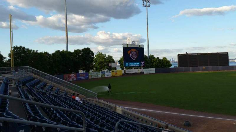 Seating view for Richmond County Bank Ballpark Section 3 Row M Seat 17
