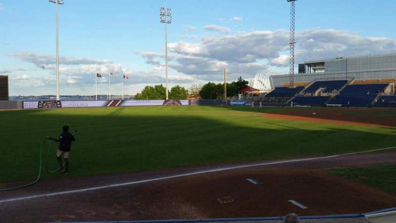 Seating view for Richmond County Bank Ballpark Section 2 Row F Seat 9