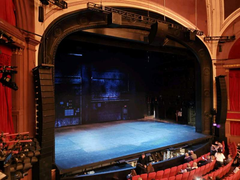 Seating view for Broadway Theatre - 53rd Street Section FMEZO Row A Seat 10