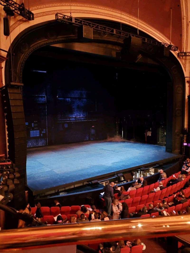 Seating view for Broadway Theatre - 53rd Street Section FMEZO Row A Seat 12