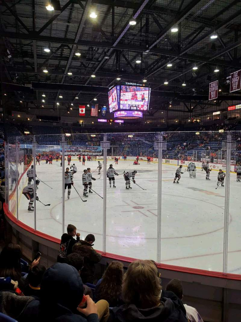 Seating view for Santander Arena Section 113 Row F Seat 1
