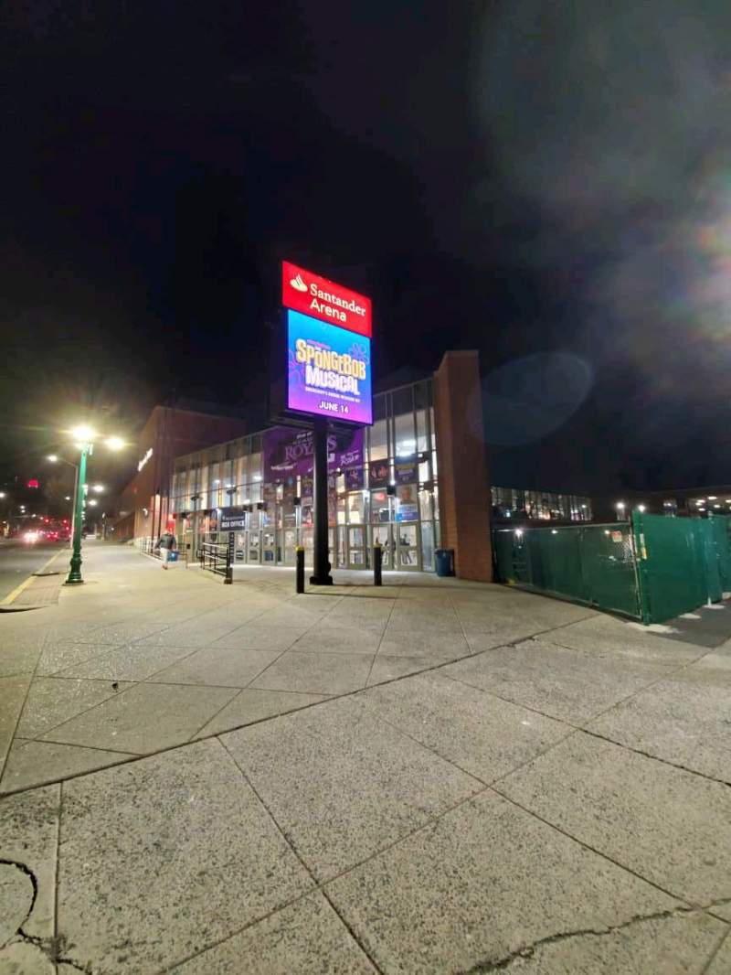 Seating view for Santander Arena Section EXTERIOR