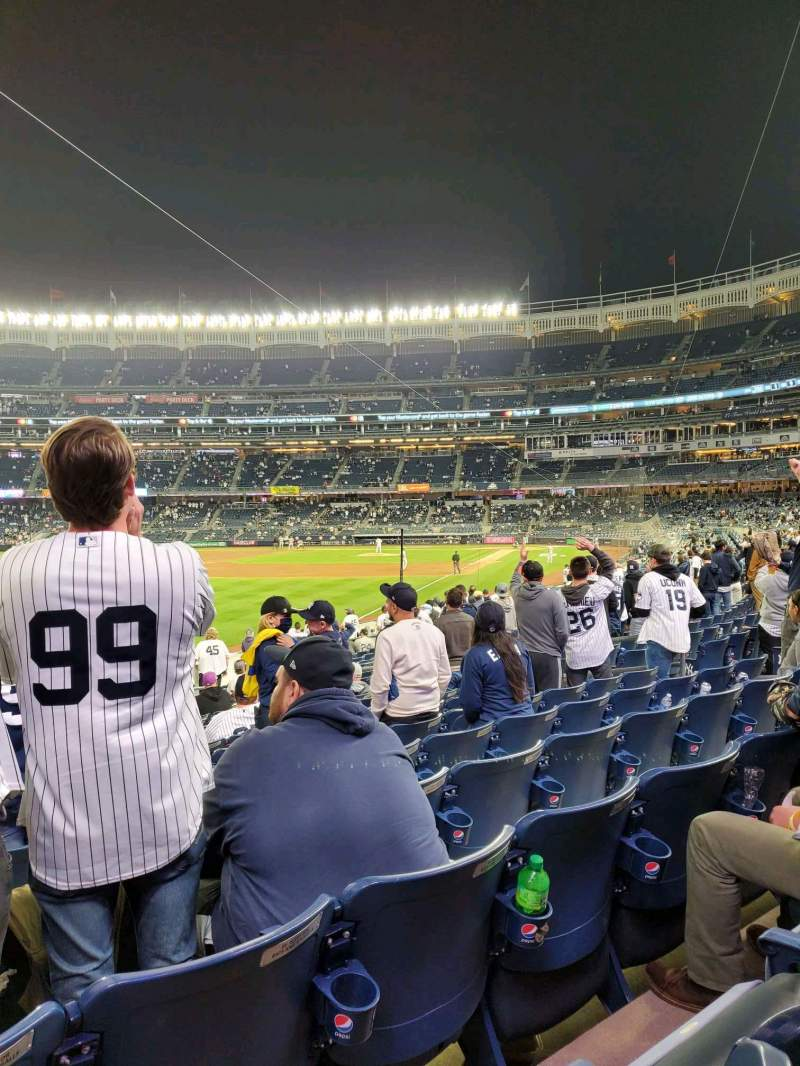Seating view for Yankee Stadium Section 131 Row 16 Seat 14