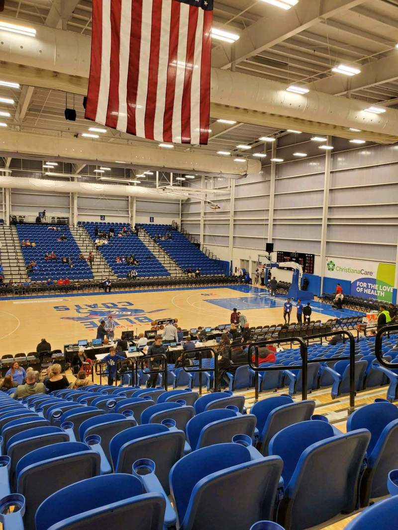Seating view for Chase Fieldhouse Section 7 Row 17 Seat 8