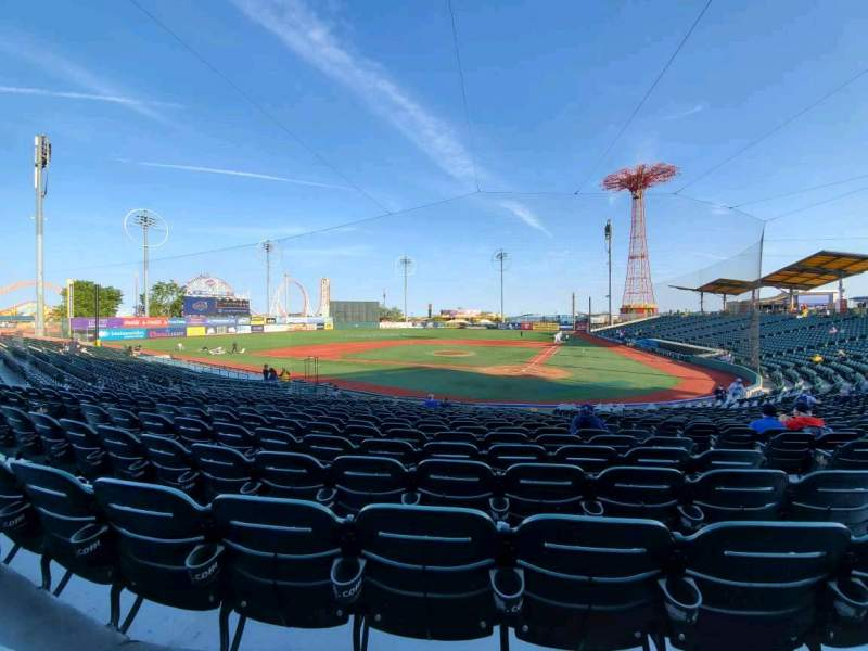 Seating view for Maimonides Park Section 5 Row U Seat 5
