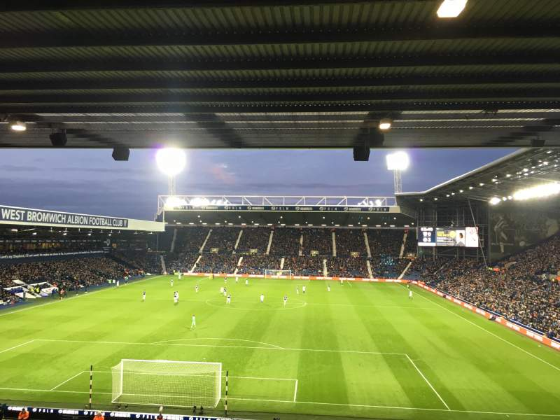 Seating view for The Hawthorns Section A3 Row SS Seat 50