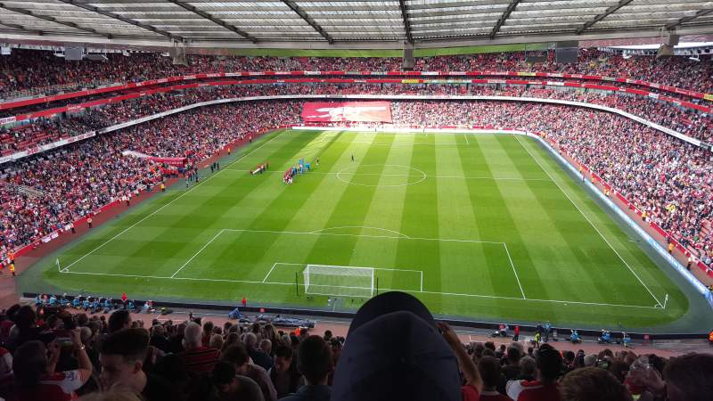 Seating view for Emirates Stadium Section 123 Row 22 Seat 894