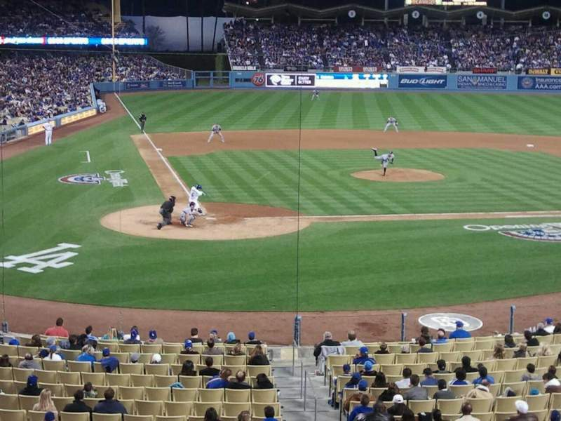 Seating view for Dodger Stadium Section 116LG Row B Seat 5