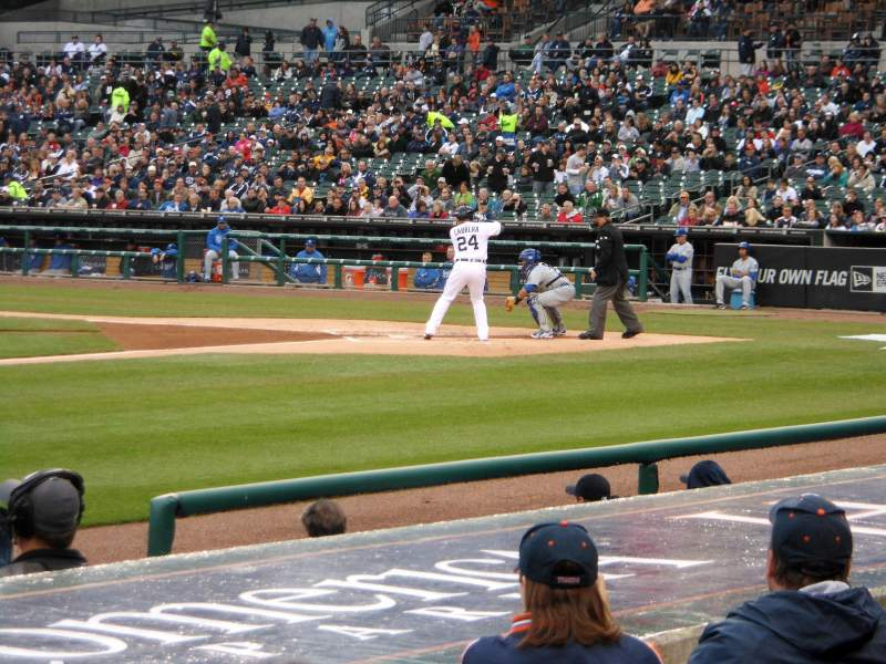 Seating view for Comerica Park Section 136 Row 13 Seat 5